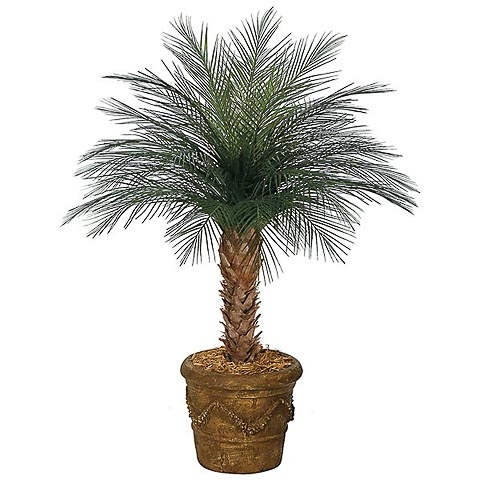 4 Foot Polyblend Outdoor UV Areca Palm