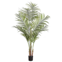 5.5 Foot Plastic Areca Palm Tree