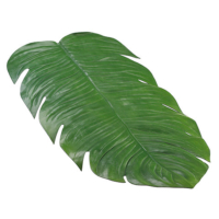 30 Inch W x 15.5 Inch L Monstera Leaf Table Runner