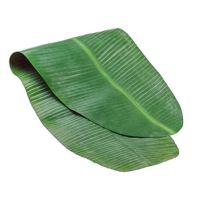 48 Inch L x 17.5 Inch W Banana Leaf Table Runner