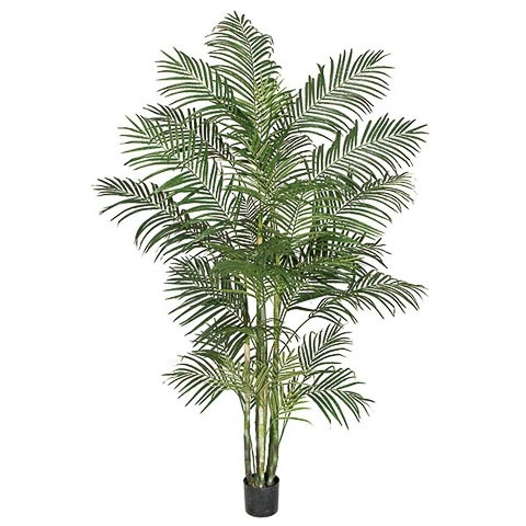 8 Foot Artificial Areca Palm Tree