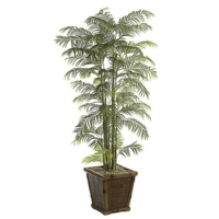 7.5 Foot Artificial Areca Palm Tree