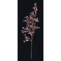 25.5 Inch Bamboo Branch- Red (Sold by Dozen)