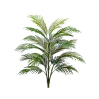 3 Foot Plastic Areca Palm Tree x4 w/18 Leaves