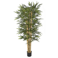 7 Foot New Bamboo Tree with Thick / Thin Canes