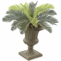 19 Inch Plastic Cycas Palm
