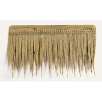 19 Inch x 11 Inch Outdoor UV Protected Polyblend Artificial Thatch Shingle