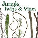 Jungle Twigs and Jungle Vines from Amazing Palm Trees