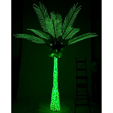 12 5 Foot Lighted Palm Tree With, Outdoor Led Palm Tree